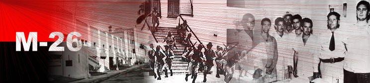 Asalto al Cuartel Moncada Cuba. Cuban@s